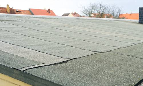 well maintained flat roofing