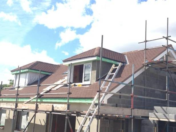 re roofing of a bungalow and dorma
