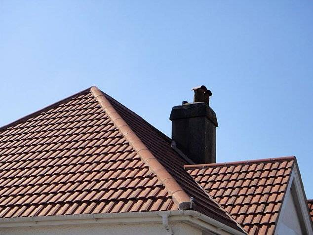 semi detached home with newly tiled roof