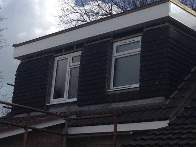 flat roof roofline repairs